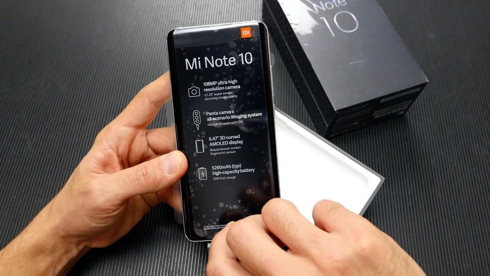 Xiaomi Mi Note 10 ελληνικό unboxing video με το Μαγικό Κοπίδι