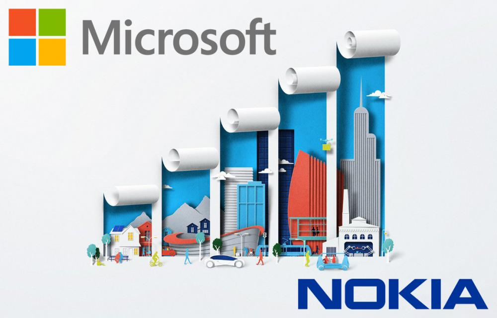 Microsoft and Nokie IoA AI and others