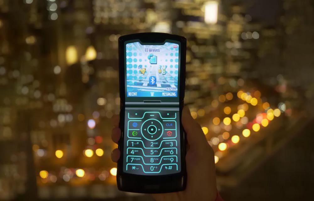 Motorola RAZR 2019 Retro Razr Mode Razr V3