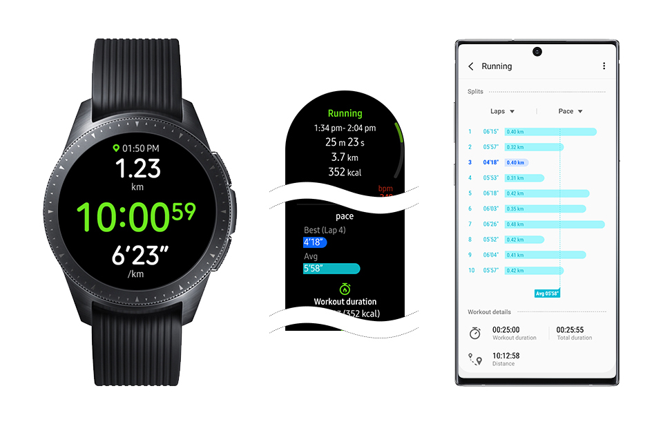Samsung Galaxy Watch and Galaxy Watch Active Gets Active 2 Features