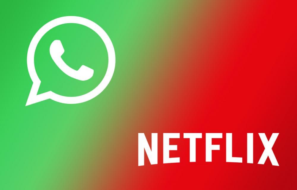 WhatsApp Plays Netflix Videos