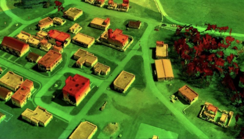 army drone make 3D aerial photos in minutes 3D χάρτες