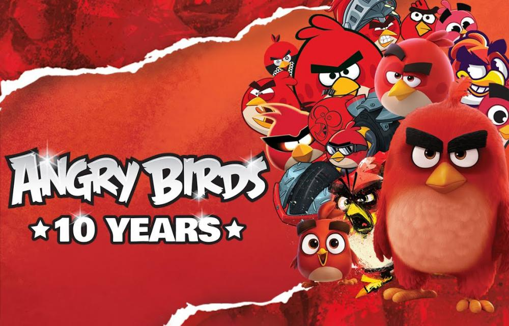 Angry Birds 10 Years and Anger Scooter