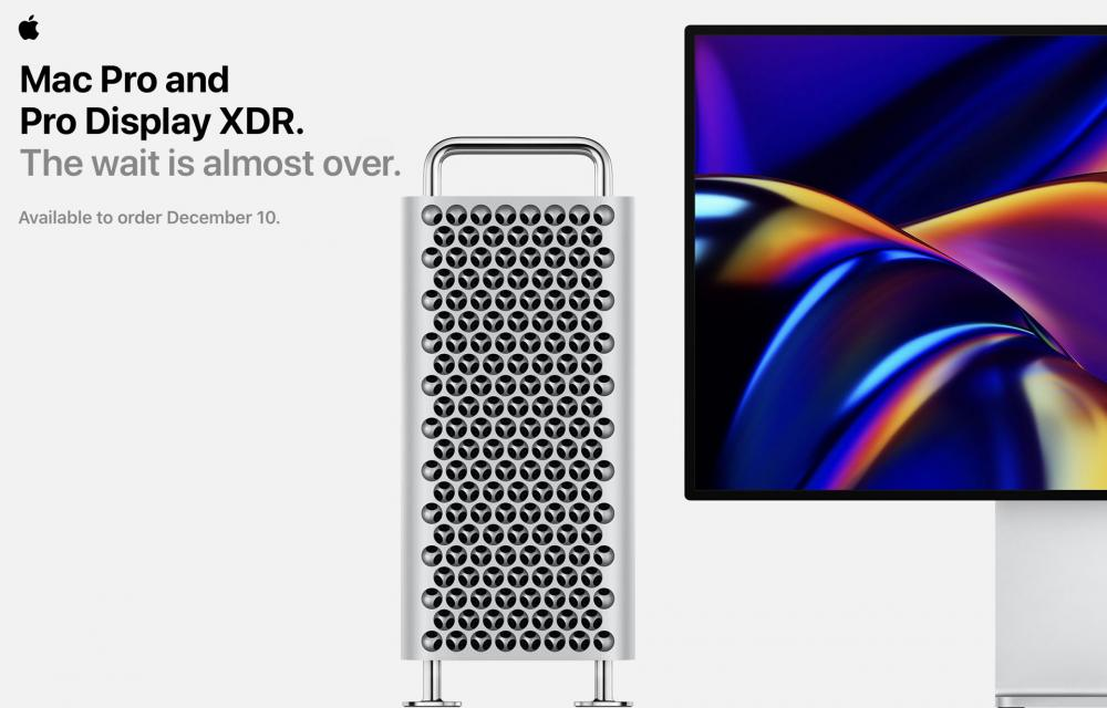 Apple Mac Pro and Pro Display XDR 10 December