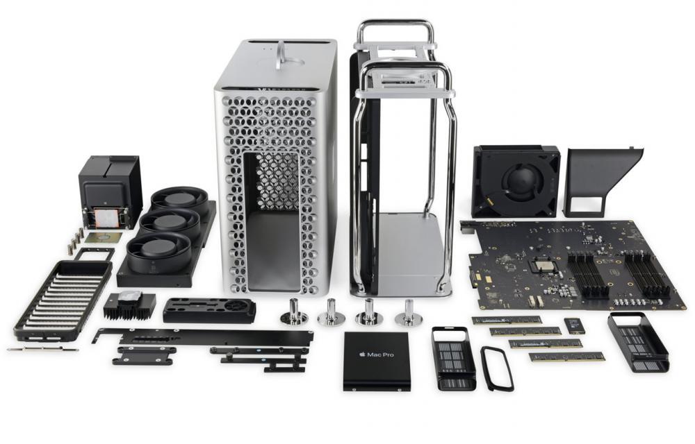 Mac Pro iFixit Teardown Full