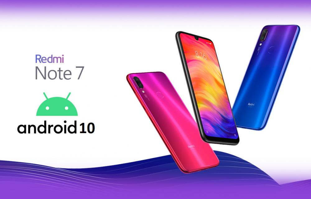 Redmi Note 10 Android 10