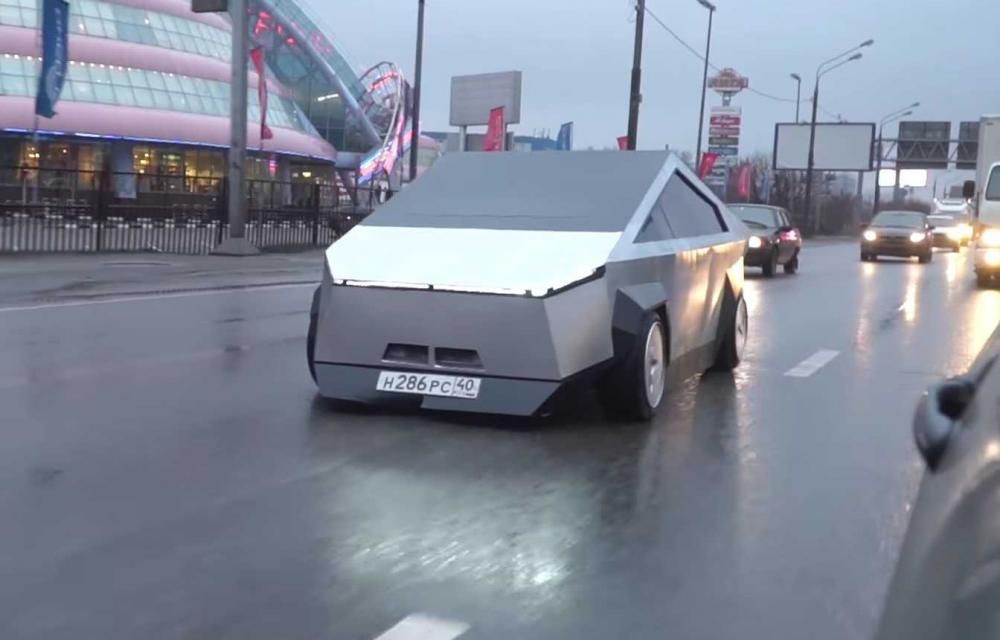 Russian Cybertruck Tesla