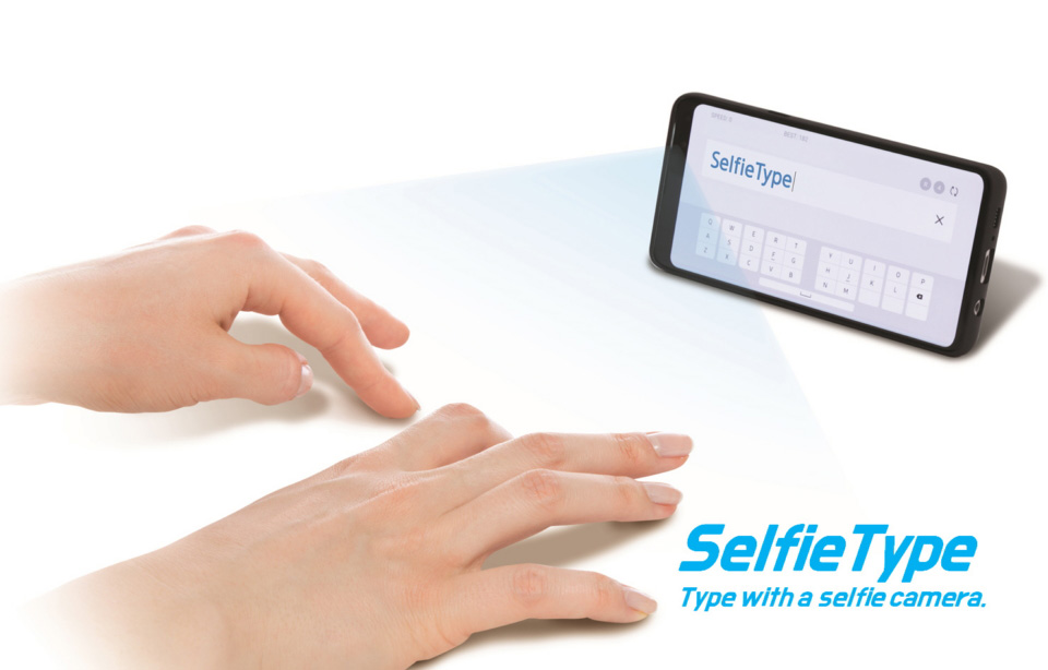 Samsung C-Lab CES 2020 SelfieType