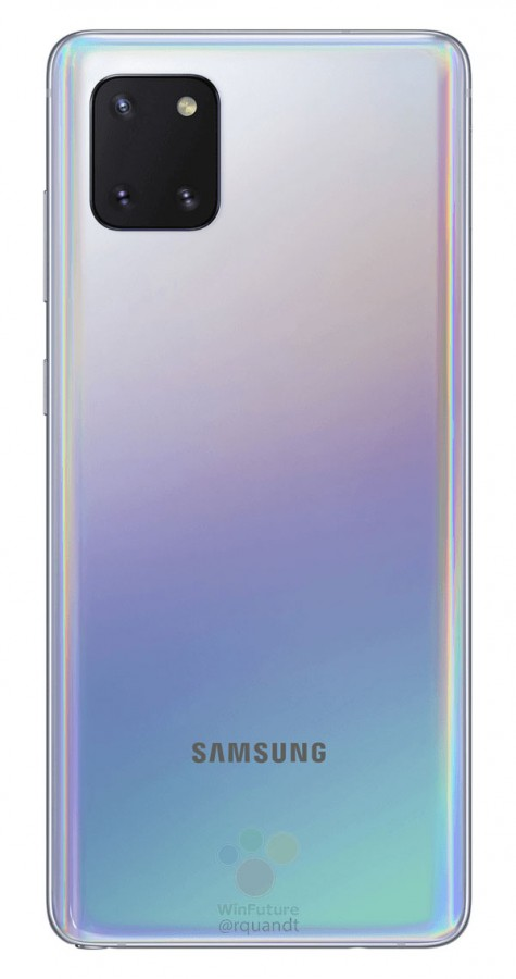 Samsung Galaxy Note 10 Lite Renders