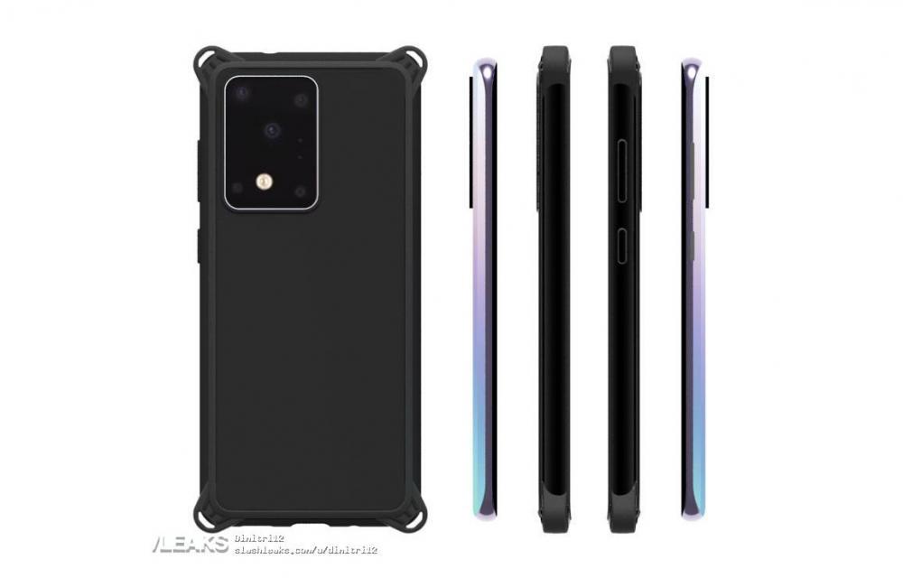 Samsung Galaxy S11+ Case Renders