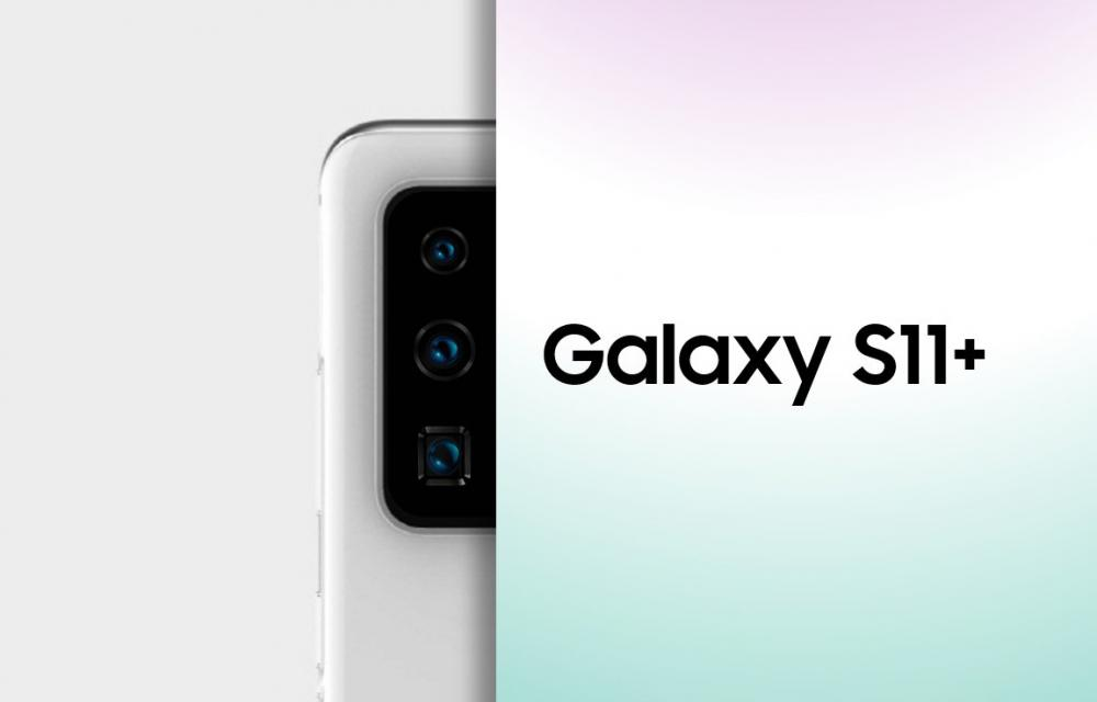 Samsung Galaxy S11+ Real image Module Array