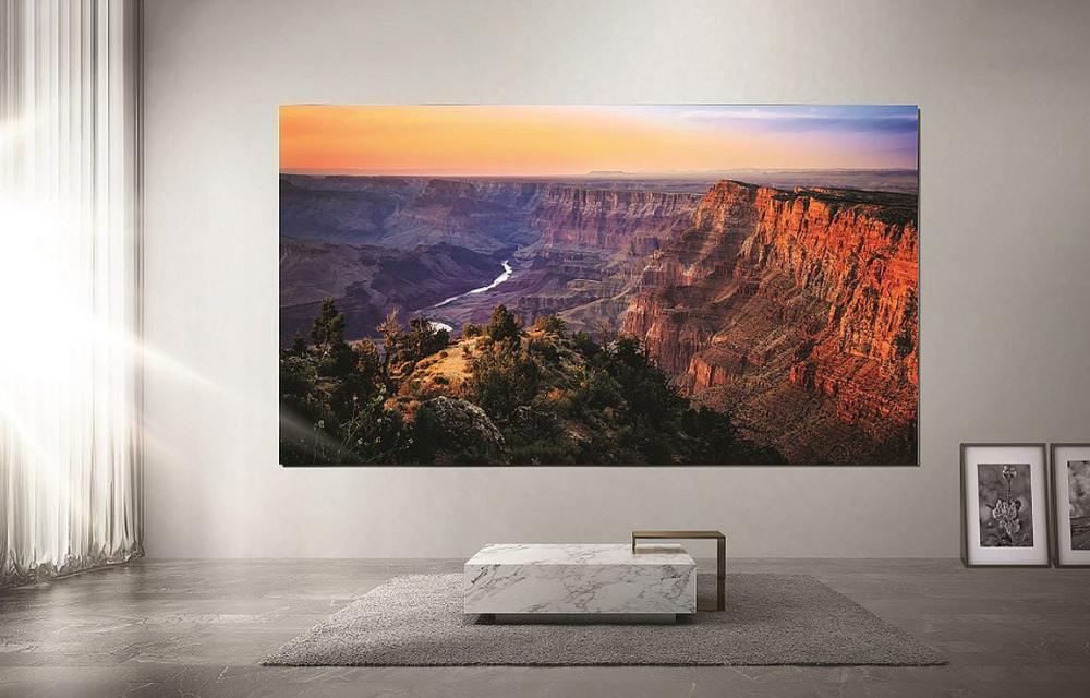 Samsung Zero Bezels TV CES 2020