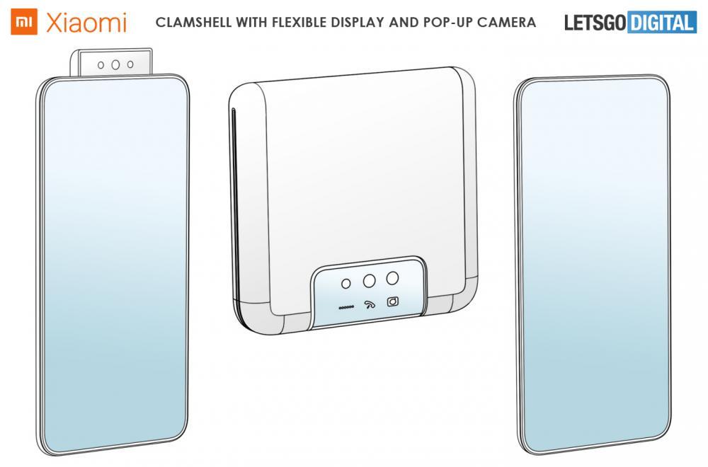 Xiaomi Clamshell Foldable Dual Screen Pop Up