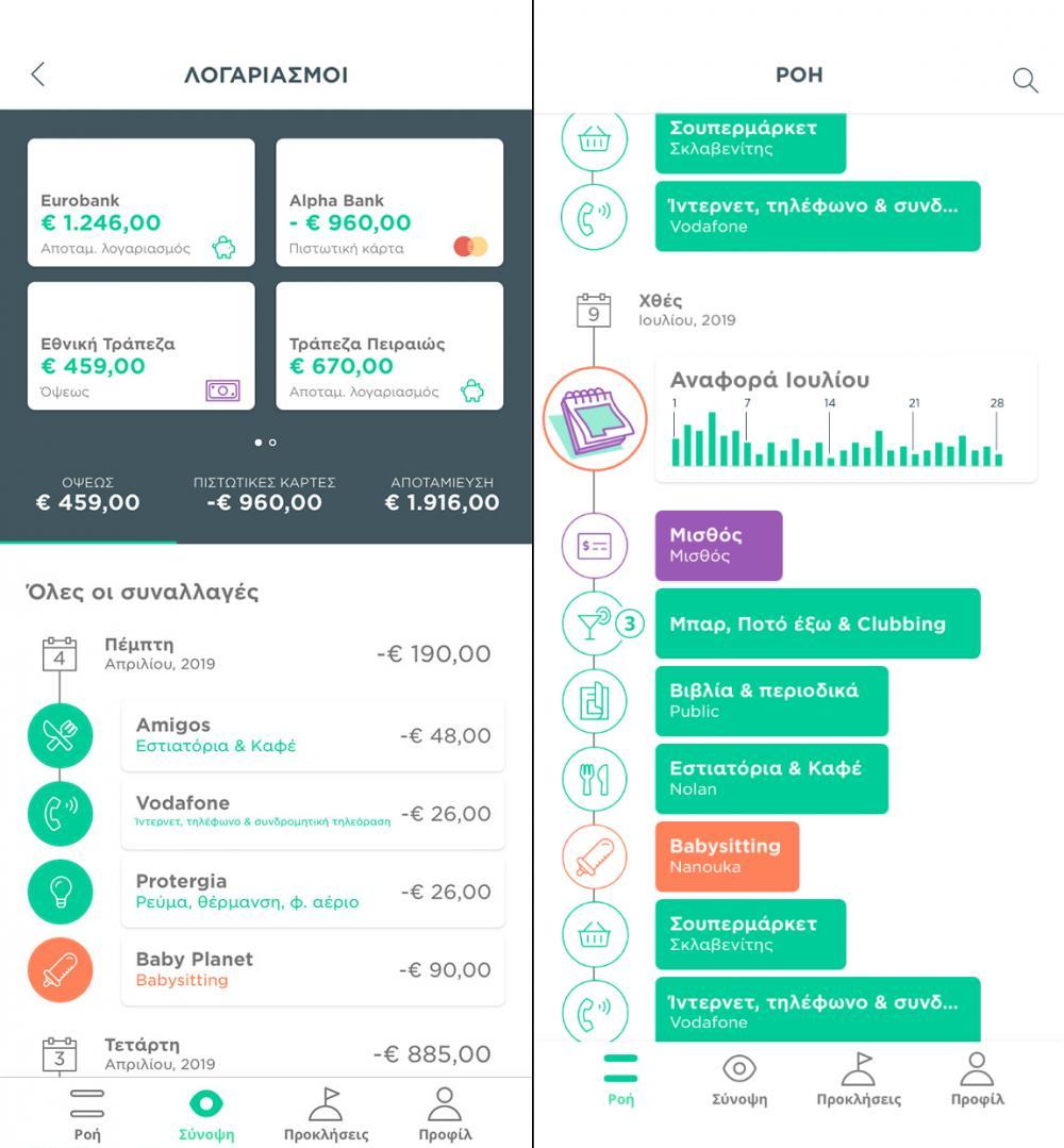 Waiz: Όλοι οι λογαριασμοί σου σε ένα application