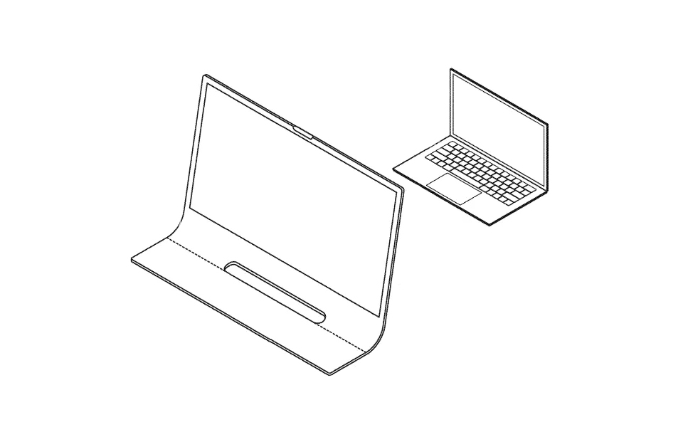 Apple iMac Curved Glass Patent