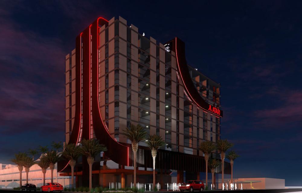 Atari Gaming Hotels USA