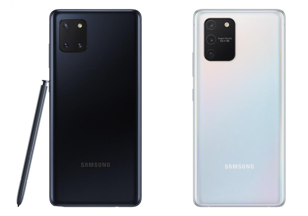 Samsung Galaxy Note 10 lite, Galaxy S10 lite
