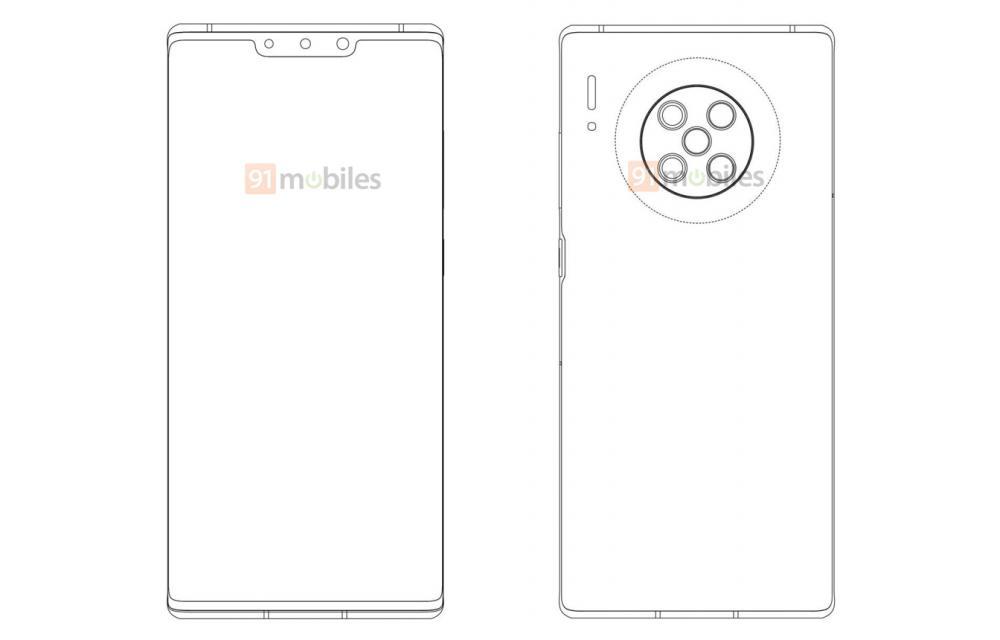 Huawei Mate 40 Pro Draw Design