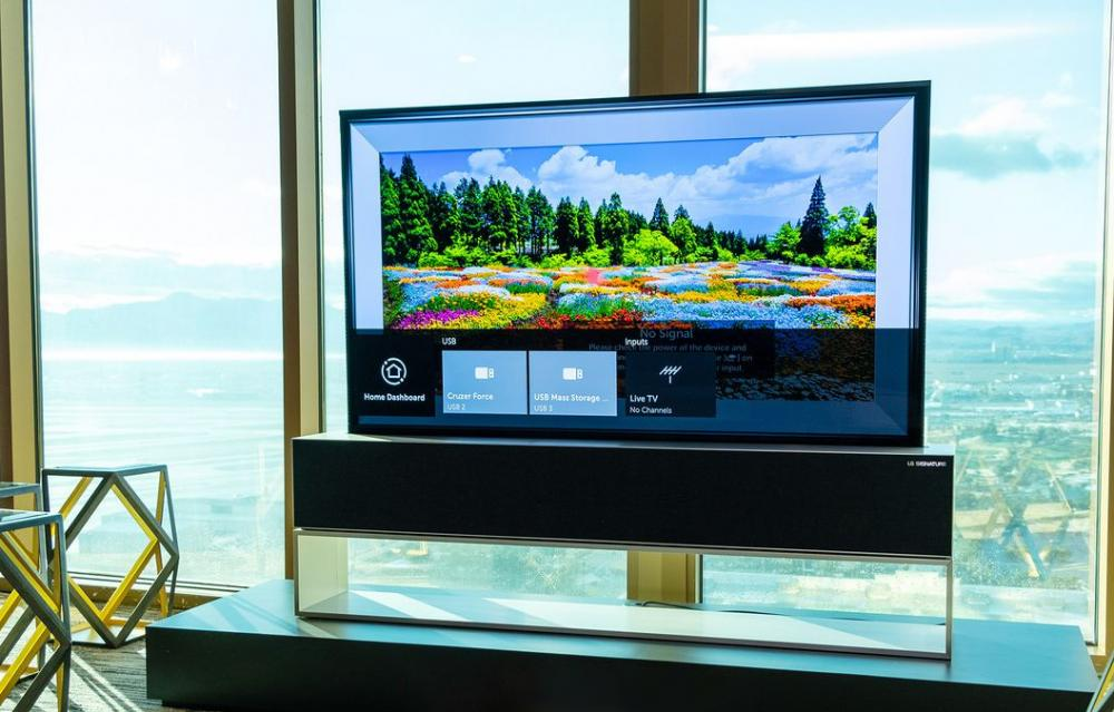 LG Rollable TV CES 2020