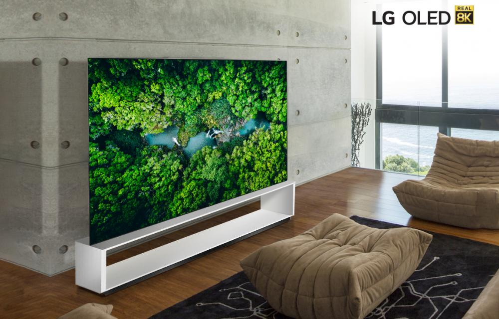 LG SIGNATURE OLED REAL 8K TV
