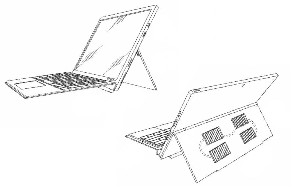 Microsoft Surface Pro 8 Solar Panel Cover
