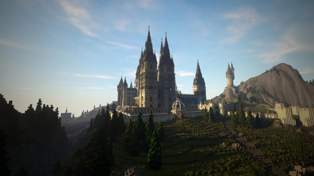 Minecraft School of Witchcraft and Wizardry