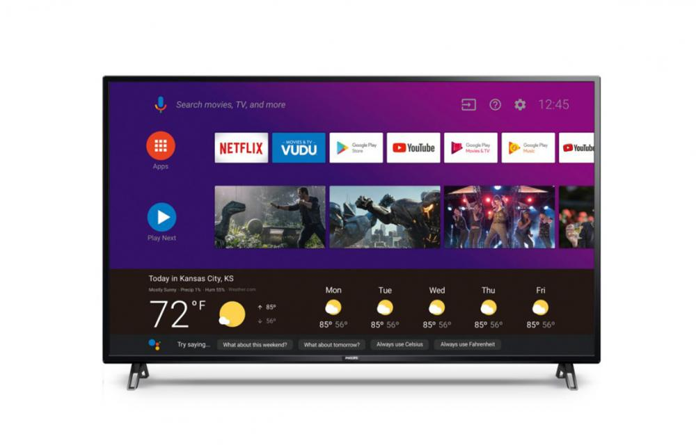 Philips 5905 Series 4K Google Stadia Android TVs CES 2020
