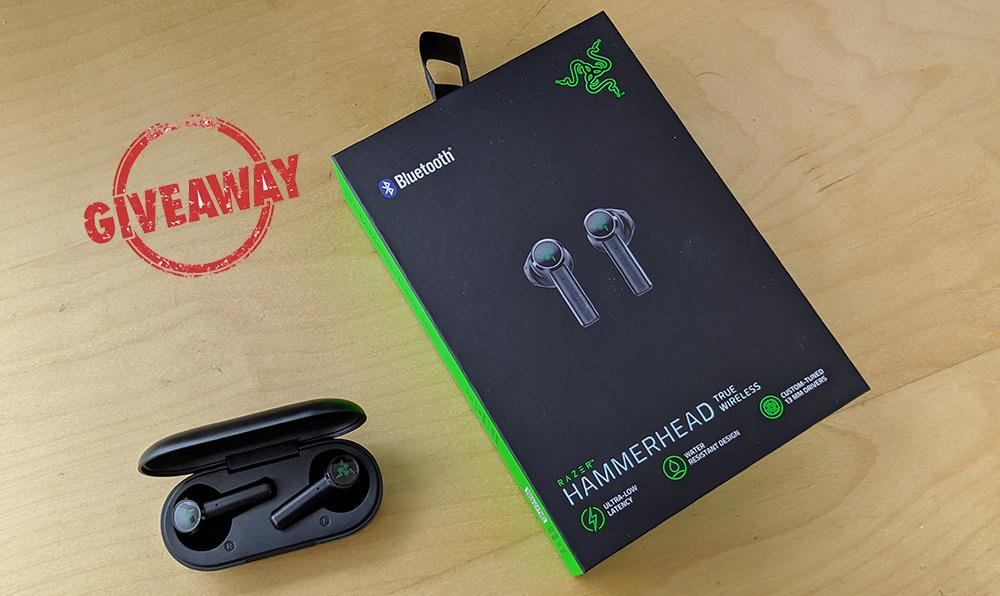 Διαγωνισμός με δώρο τα RAZER Hammerhead True Wireless ακουστικά