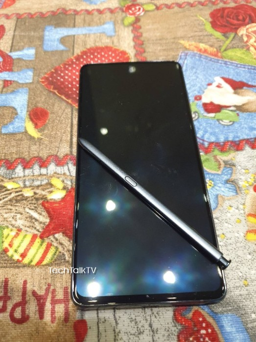 Samsung Galaxy Note 10 Lite Live images