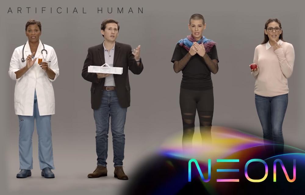 Samsung NEON Human Avatar AI