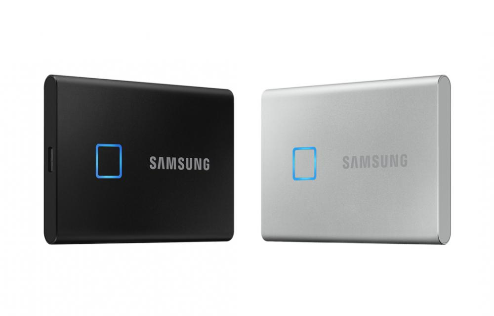 Samsung Portable SSD T7 Touch CES 2020