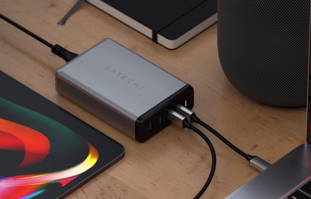 Satechi 108W Pro USB-C PD Desktop Charger CES 2020
