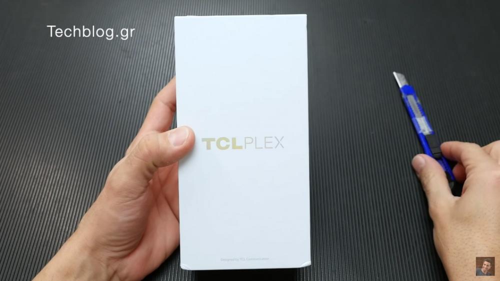 TCL Plex ελληνικό unboxing video