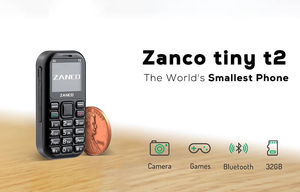 Zanco tiny t2 Smallest Smartphone in world
