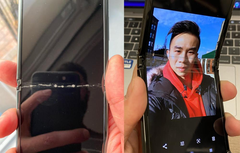 Cold weather enemy of foldable smartphones