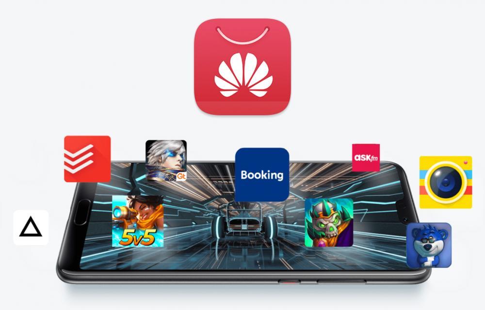 Huawei App Gallery Facebook Twitter Instagram