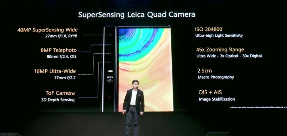 Huawei Mate Xs: Επίσημα το νέο foldable κινητό με Kirin 990 5G