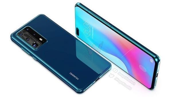 Huawei P40 Pro New renders
