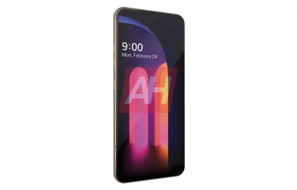 LG V60 ThinQ Press Render