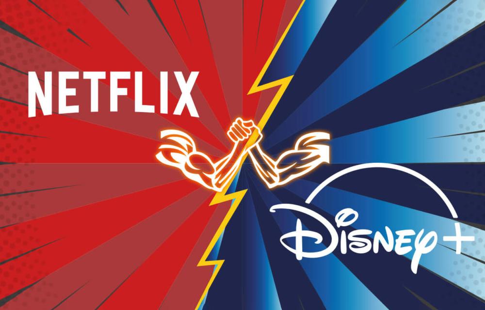 Netflix Disney Plus Fall