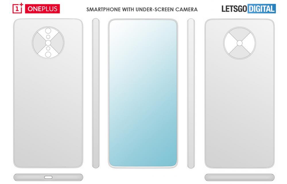 OnePlus hidden cameras patent