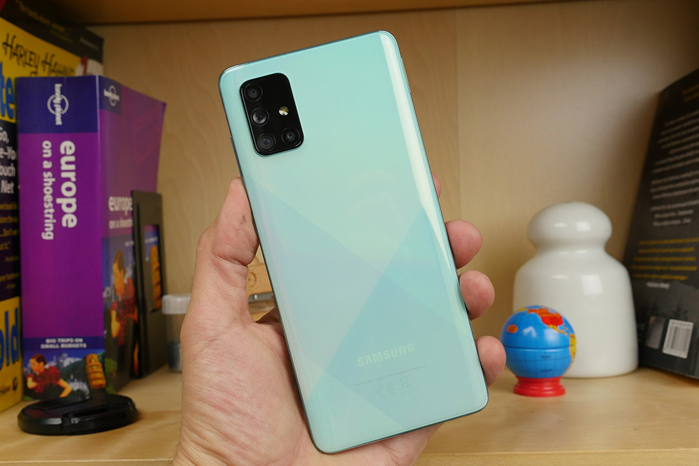Samsung Galaxy A71 ελληνικό hands-on video review