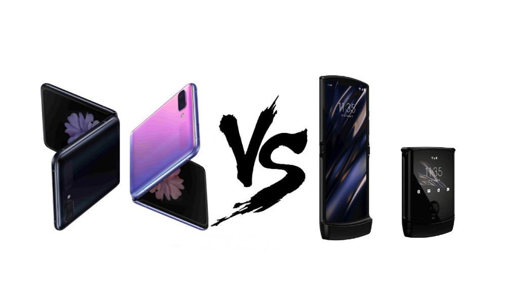 Samsung Galaxy Z Flip vs Motorola RAZR 2019: Σύγκριση στα τεχνικά χαρακτηριστικά
