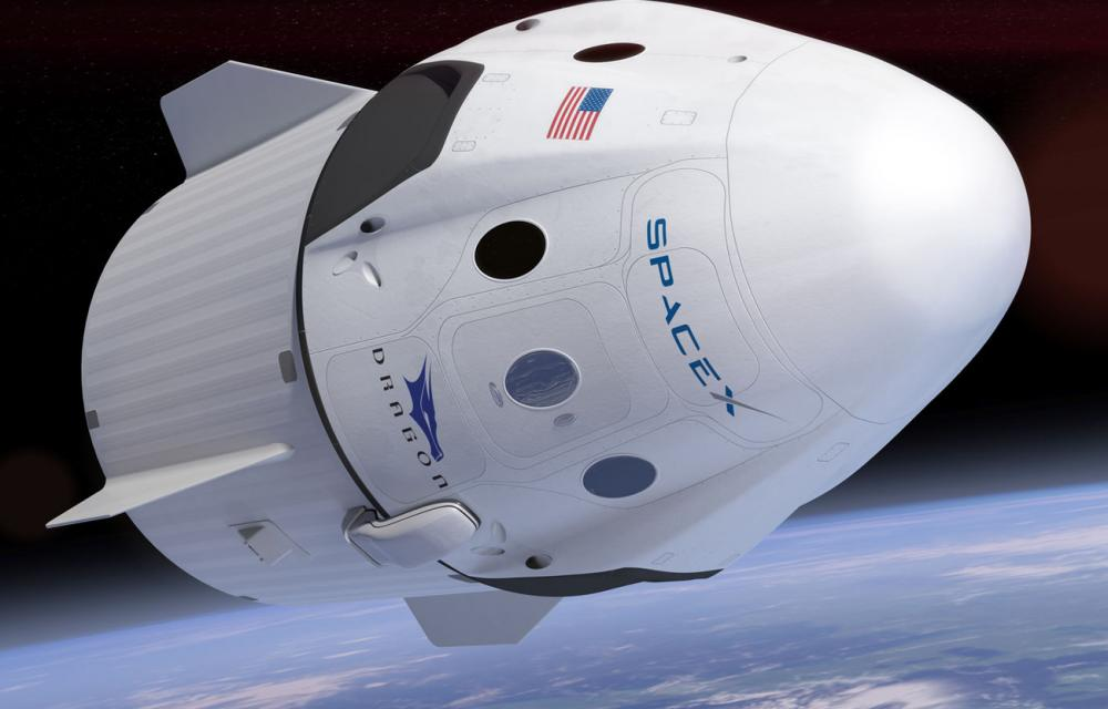 SpaceX Crew Dragon Capsule 2021