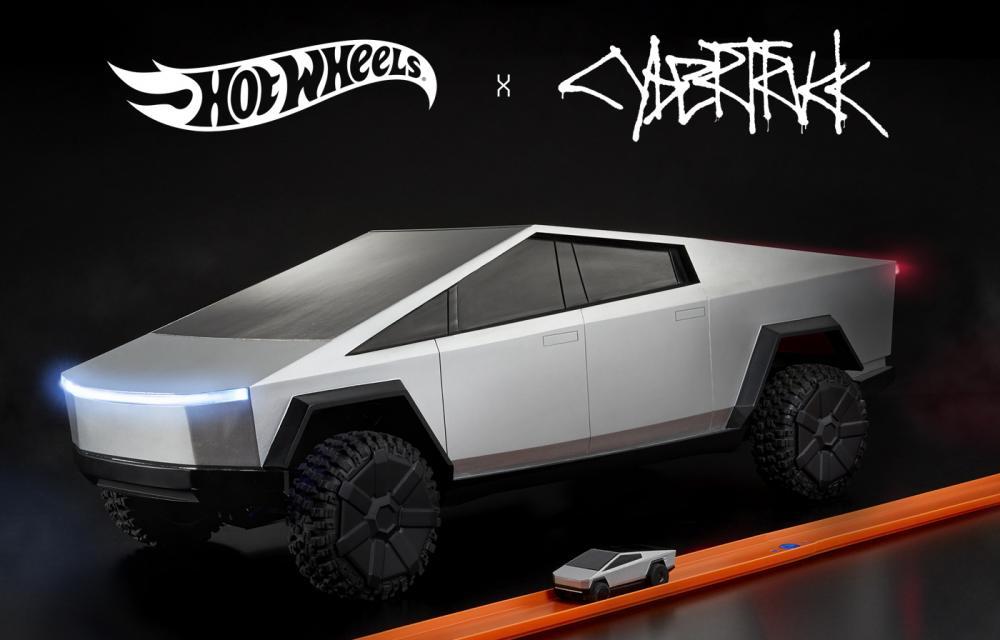 Tesla Cybertruck Mattel Hot Wheels