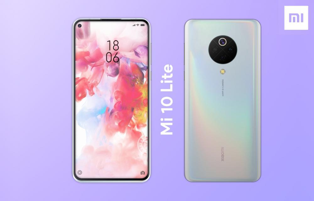Xiaomi Mi 10 Lite Leak Design