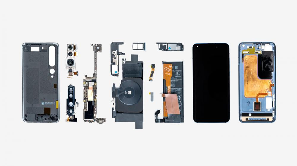 Xiaomi Mi 10 Pro Official Teardown