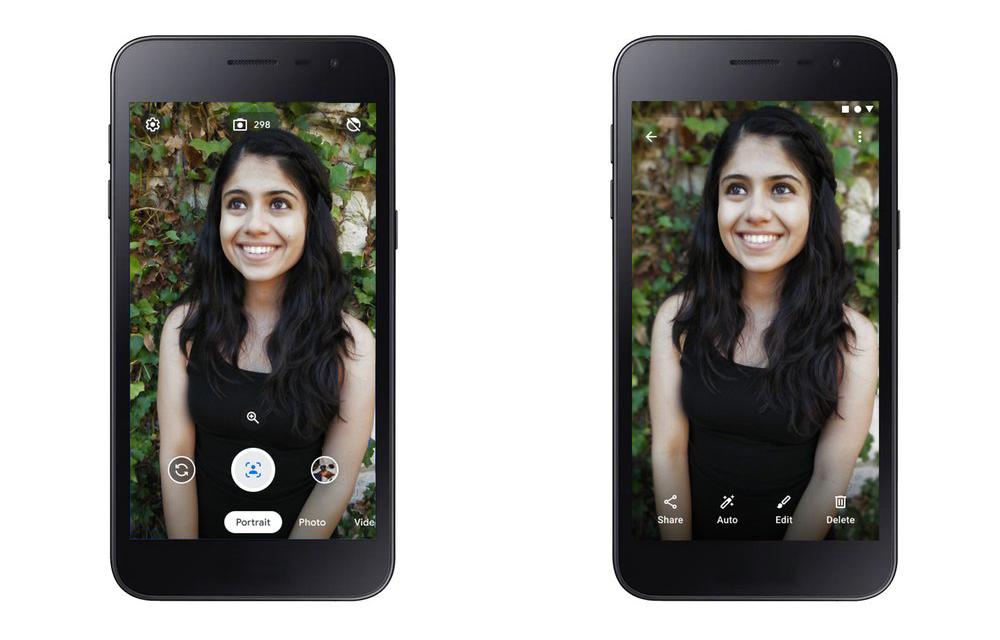 Android Go Camera Go Google Portrait Mode Pixel