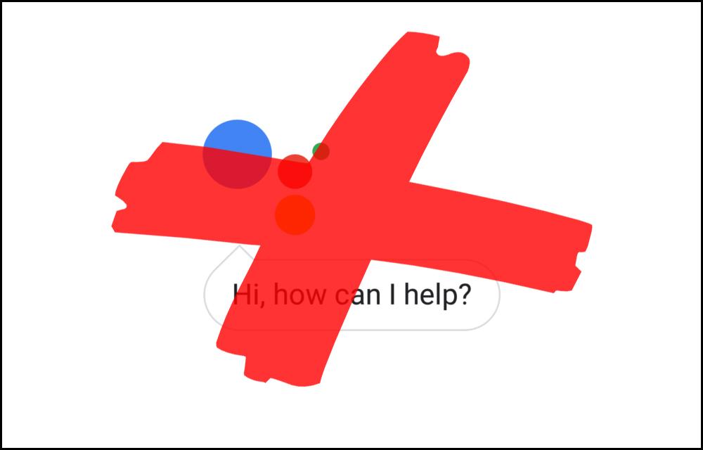 Google Assistant Delete Activity