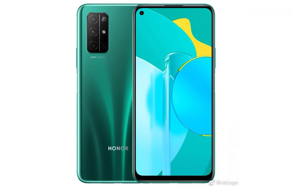 Honor 30S Press Renders